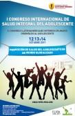 I CONGRESO INTERNACIONAL DE SALUD INTEGRAL DEL ADOLESCENTE
