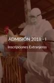 DERECHO DE INSCRIPCION MAESTRIA 2018 - MAESTRIA EN EPIDEMIOLOGIA Y SALUD PUBLICA EN VETERINARIA - EXTRANJEROS