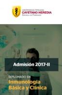 DIPLOMADO EN INMUNOLOGÍA BÁSICA Y CLÍNICA 2017-II