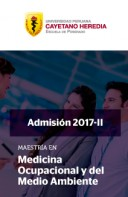 Maestría en Medicina Ocupacional y del Medio Ambiente 2017-2